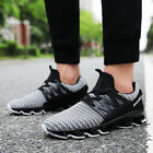 New Mans Mesh Fabric Stylish Heels Sneakers Trainers Sport Walking Shoes