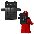 Custom KNAPSACK Backpack for Lego Minifigures -Soldiers- Pick your Color