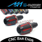 Anodized CNC Bar Ends Fit Kawasaki Z650 17