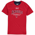 Under Armour Los Angeles Angels Youth Red Charged T-Shirt - MLB