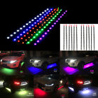 "12Pcs 12"" Waterproof DC 12V LED Strip Light Self-Adhesive Car Motorcycle Light"