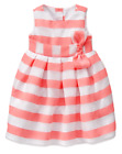 NWT Gymboree Baby Girl WILDFLOWER WEEKEND Peachy Pink Dress FREE US SHIP 6-12
