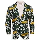 Forever Collectables NFL Men's Green Bay Packers Ugly Business Jacket, Green