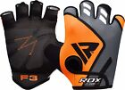 RDX Gym Power Breathable Weight Lifting Gloves Straps Training Exercise Support