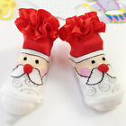 Girls Warm Soft Cotton Cartoon Socks Baby Ruffle Ankle Lace Princess Short Socks