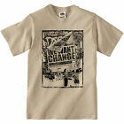 MENS WE WANT CHANGE POLITICS PROTEST ART POSTER BANKSY STYLE T-SHIRT TEE TOP