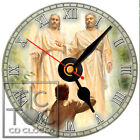 S-913 CD CLOCK-JOSEPH SMITH'S GODS VISIT PICTURE-FAST FREE SHIPPING-BUY IT NOW