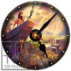 S-923 CD CLOCK -THE LION KING-DESK OR WALL CLOCK-BUY IT NOW-FREE SHIPPING
