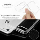 Apple iPhone 7 Ultra Transparent Clear Silicone Soft Bumper iPhone 7 Plus Case
