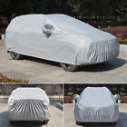 Full Car Cover Waterproof Anti-UV Sun Snow Dust Rain Resistant For Hatchback