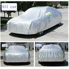 Full Car Cover Waterproof Anti-UV Sun Snow Dust Resistant Aluminum Film Sedan