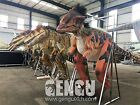 VELOCIRAPTOR DINOSAUR COSTUME LIFE-LIKE 12' TALL/LONG-ADULT CHILDREN-SMALLER