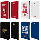 OFFICIAL ARSENAL FC GOONERS LEATHER BOOK WALLET CASE FOR SAMSUNG GALAXY TABLETS