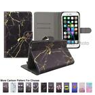 "For Highscreen Razar Pro 5.0"" Smile Marble Letter Card Holder Wallet Case Cover"