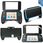 Protective Hand Grip Cover+Top/Bottom Screen Protector for Nintendo New 2DS XL