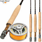 Внешний вид - 3/4 5/6 7/8WT Fly Rod Combo 9FT Carbon Fly Fishing Rod with Fly Reel  Line