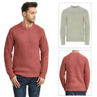 Brave Soul Mens Surgeon Designer Pullover Chunky Cable Knitted Jumper Sweater