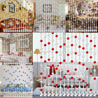 Crystal Magnifying glass Bead Curtain Luxury Living Room Bedroom Windows Door Wedding Decor