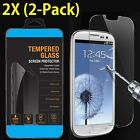 2X Premium Tempered Glass Screen Protector Film & Case For Samsung Galaxy S6 S7