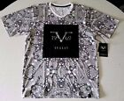 *Versace 19V69* ITALIA *v-neck* printed detail T-Shirt V19.69 *VB17-162*