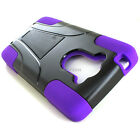 For Motorola DROID Turbo XT1254 Shockproof Hybrid Armor Hard Soft Case Y Stand