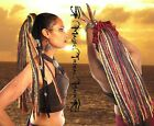 DREAD FALL Gypsy Boho Dreadlocks TRIBAL FUSION BELLY DANCE hair piece RENFAIRE