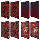 HEAD CASE DESIGNS MARSALA TRENDS LEATHER BOOK WALLET CASE COVER FOR APPLE iPAD