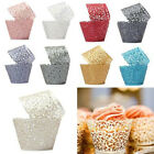 Laser Cut Filigree Vintage Cupcake Wrappers Wraps Cases Wedding Party Birthday