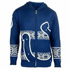 Forever Collectibles NFL Men's Indianapolis Colts Full Zip Hooded Sweater, Blue