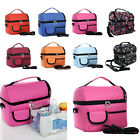 Large Capacity Durable Insulated Cooler Lunch Bag with Adjustable Shoulder Strap