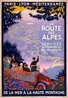 VINTAGE TRAVEL & RAILWAY POSTERS - A5 - A4 - A3 - HD Retro Art Picture Prints