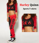 New Harley Quinn Fanncy Dress/Jacket/T-shirts/Trousers/Jewelry Xmas Gift Cosplay