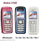 Nokia 3100 GSM Bar Phone Cheap Classic Cellphone Unlocked Refurbished 1 Year WTY