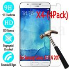 4X Tempered Glass 9H Film Screen Protector Cover For Samsung Galaxy J3 5 7 2017