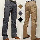 Mens Designer Trousers Chinos Stretch Skinny Slim Fit Jeans All Waist Sizes Pant