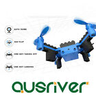 Stable DIY Building Block Assembly Quadcopter Mini Drone Air Press Altitude Hold