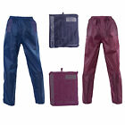 ProClimate Womens Waterproof Over Trousers Ladies Packaway Lightweight Bottoms