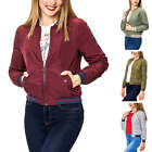 Only Damen Bomberjacke Übergangsjacke Wattierte Jacke Damenjacke Color Mix
