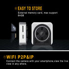 Wireless Mini Security Camera H5 HD 720P Wifi IP Night Vision Camcorder Black a