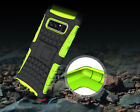 Real Shockproof Hybrid Bumper Hard Protect Stand Case Cover for Samsung Galaxy