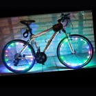 20 LED Colorful Bicycle Wheel Lights Mountain Bike Spoke Lights String Lamp