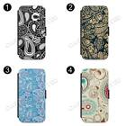 Paisley FLIP PHONE CASE COVER  FOR iPHONE & SAMSUNG ALL MODEL