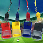 1/2x EDC fox40 Plastic Soccer Football Basketball Sports Outdoor Referee Whistle