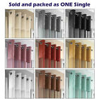 Madeira Crushed Metaliic Luxury Voile Net Curtain Panel Eyelets Ring Top Panels