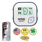 Blue GolfBuddy Voice2 Golf GPS / Rangefinder + Srixon Z Star XV + Ball Marker