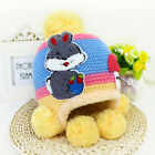 Kids Crochet Hat Winter Hat Warm Beanie Cap Boys Girls Baby Knitted Hat Bonnet