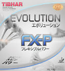 Tibhar Evolution FX-P Table Tennis Racket Rubber Ping Pong 2.1mm Red Black