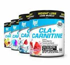 BPI CLA + CARNITINE Non-Stimulant Weight Loss & Lean Muscle 50 Serving New Seal
