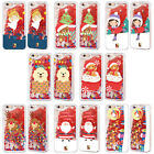 HEAD CASE DESIGNS XMAS TOON RED GLITTER CASE FOR APPLE iPHONE SAMSUNG PHONES
