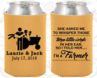 Gold Wedding Koozies Koozie Favors Gift Ideas Decorations Gifts (544)
